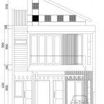 Tampak Depan Rumah Minimalis modern di grand depok city