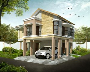 Renovasi rumah klasik di perumahan depok maharaja