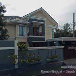 Renovasi rumah tinggal minimalis tingkat 2 terbaru di depok maharaja