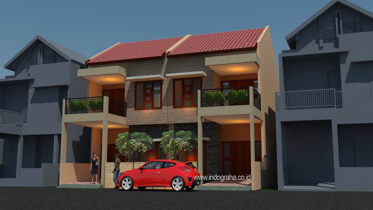 830 Gambar Rumah 2 Lantai Sebagian HD