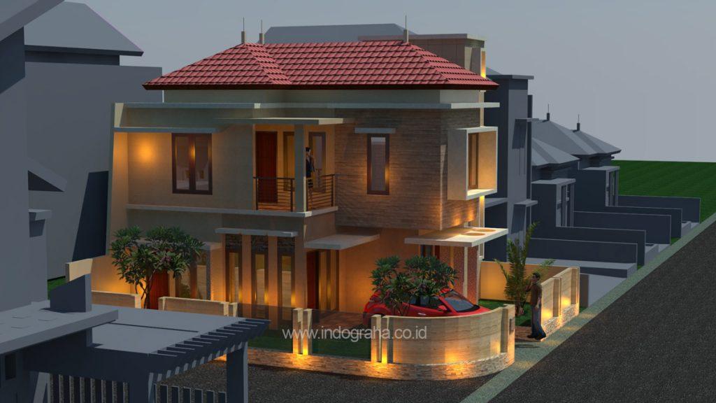 Gambar rumah tinggal minimalis terbaru 2018 di Tebet Jakarta Selatan