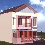 Jasa desain rumah kos mahasiswa tingkat 3 di depok