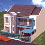 Jasa desain rumah minimalis di jl tole iskandar depok