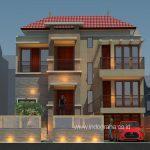 Jasa desain rumah minimalis tingkat 2 di cibubur