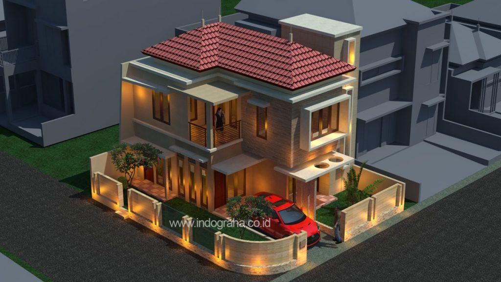 Jasa desain rumah tinggal di area tebet jakarta selatan