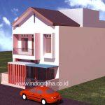 Model rumah kos minimalis 3 lantai di kota depok