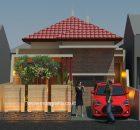 Model rumah minimalis 1 lantai di cikarang bekasi