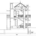 Potongan B B rumah modern minimalis- cibubur jakarta