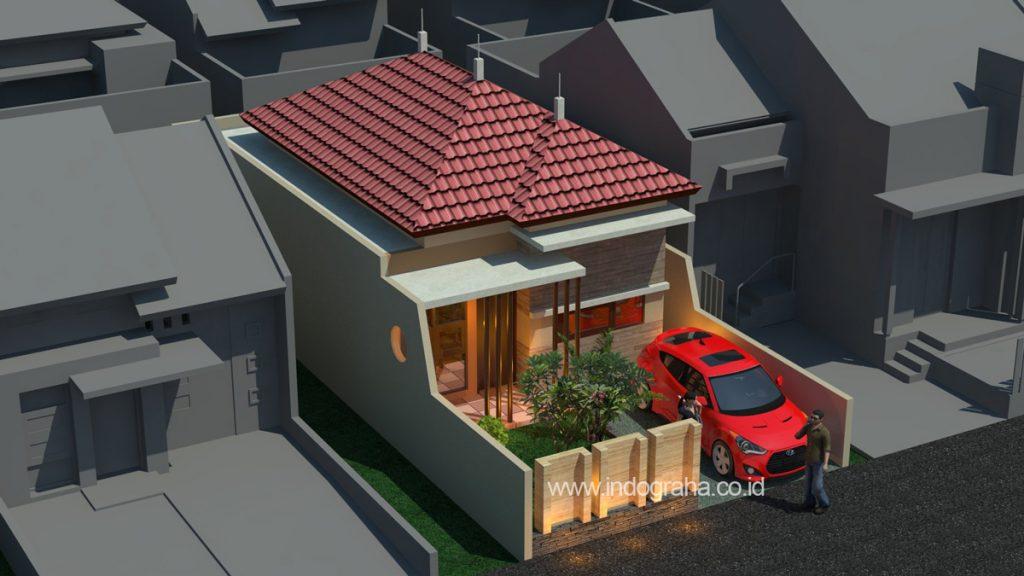 gambar rumah modern minimalis di kota deltamas bekasi