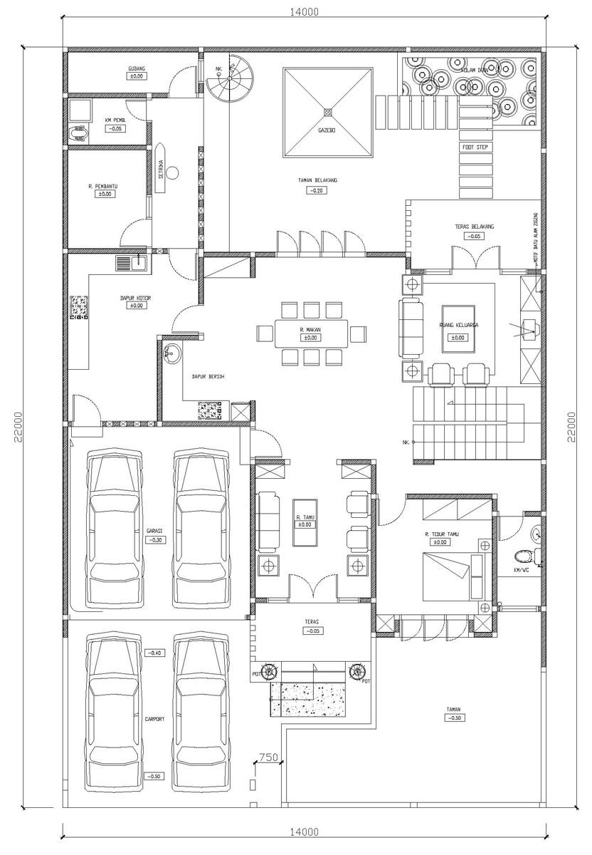Model Rumah Minimalis Terbaru Di Kavling Dki Duren Sawit Jakarta