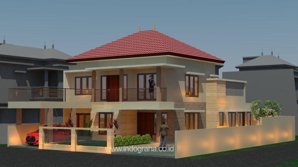 Desain rumah minimalis modern terbaru di cilodong kota depok