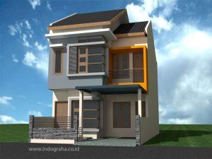 Jasa arsitek rumah minimalis tingkat 2 di cimanggis kota depok