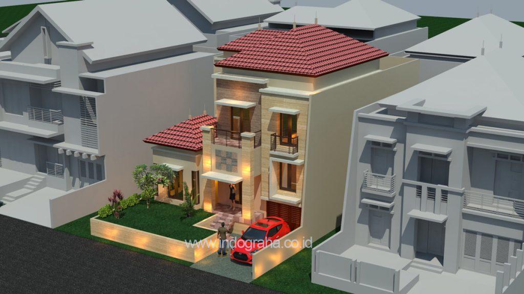 Jasa arsitek rumah tingkat minimalis terbaru 2018 di citragran cibubur