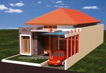 Jasa desain arsitek rumah minimalis di perumahan Depok Maharaja