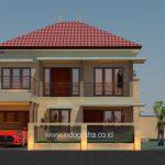 Model rumah minimalis terbaru di perumahan GDC kota depok