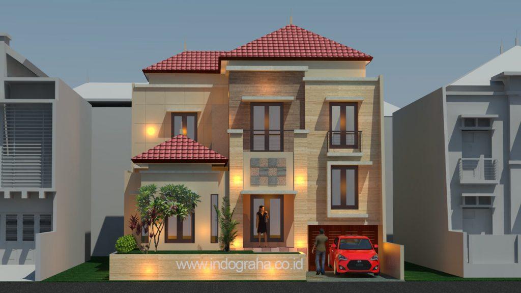 Model rumah minimalis terbaru di perumahan citragran cibubur