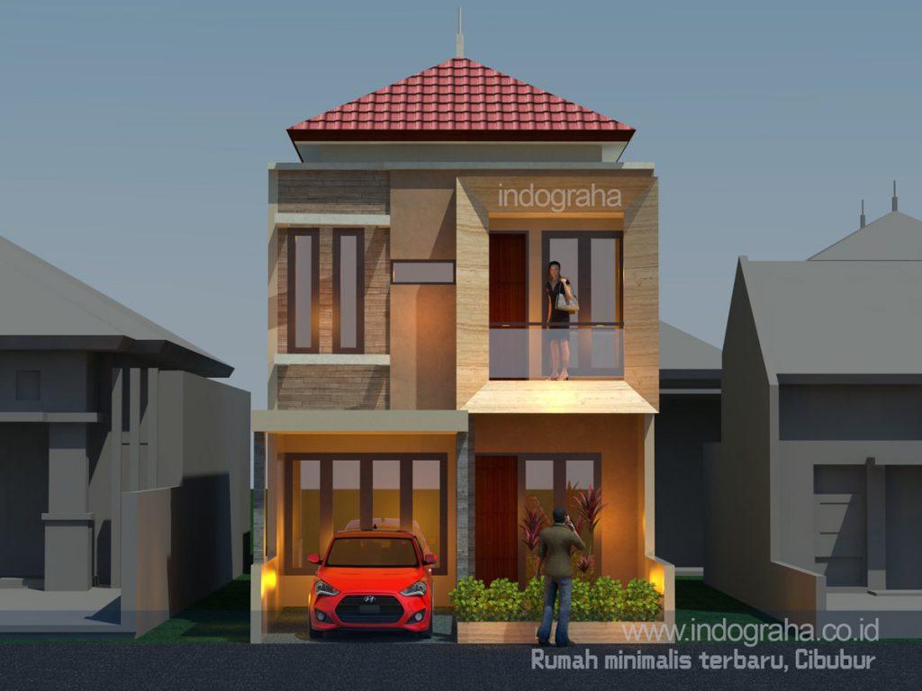 Bangun rumah minimalis terbaru di cluster royal cibubur country