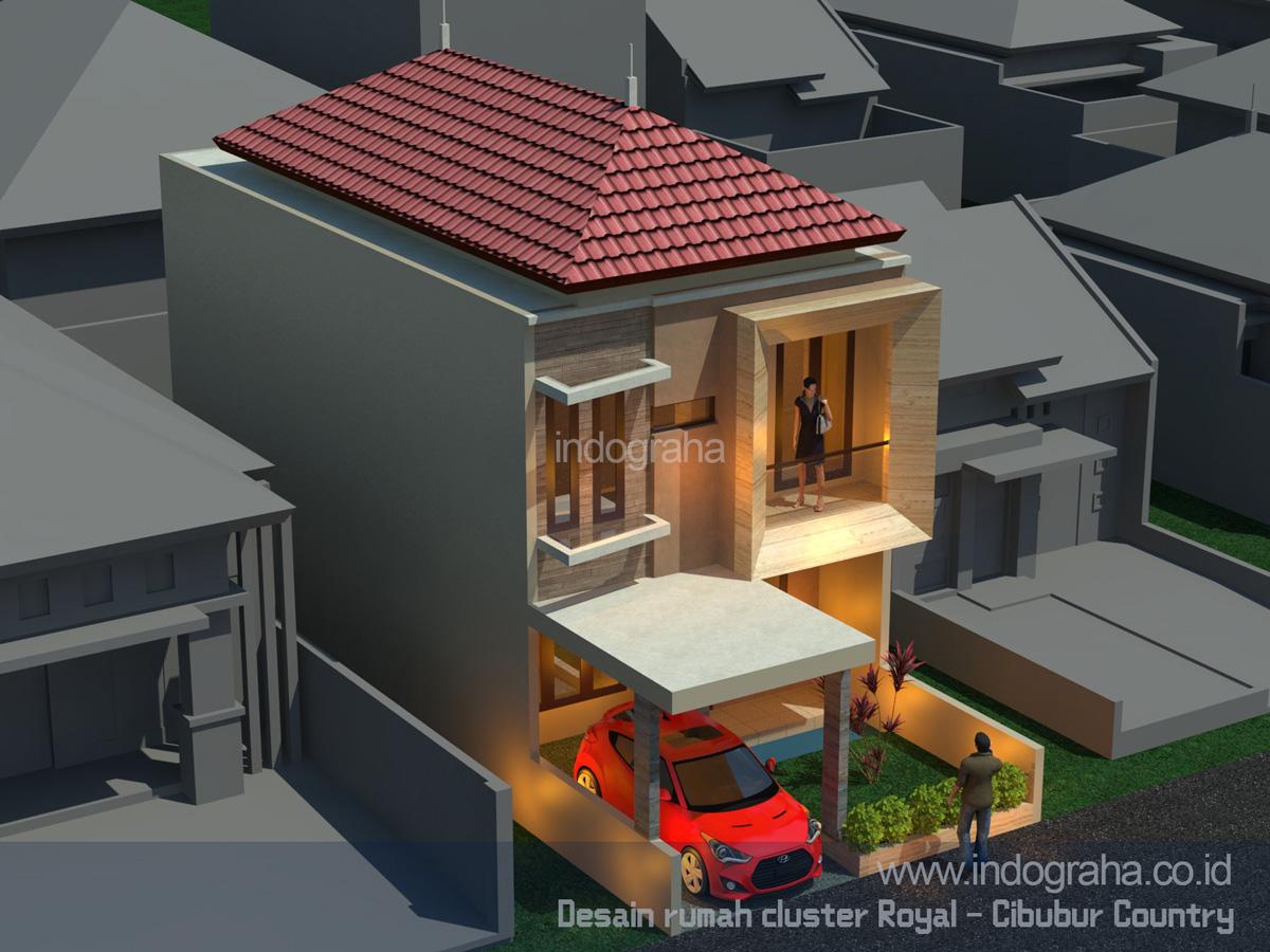 Renovasi Rumah Minimalis 2 Lantai Di Cluster Royal Cibubur Country