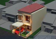Jasa arsitek cibubur, desain rumah minimalis tingkat 2 terbaru