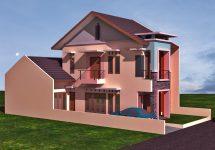 Model rumah minimalis terbaru 2 lantai di cimanggis kota depok