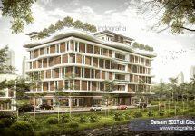 Desain Sekolah Dasar Islam Terpadu SDIT di Cibubur