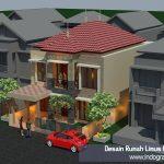 Desain rumah terbaru di perumahan limus pratama cileungsi bogor