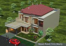 Model rumah minimalis terbaru tingkat 2 di kota wisata cibubur