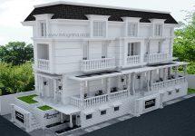 Gambar gedung dan kantor dengan model klasik di kota bekasi