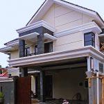 Renovasi rumah tinggal 2 lantai di perumahan depok maharaja