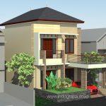 Gambar kerja arsitek rumah minimalis terbaru di beji kota depok