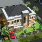 Gambar rumah sudut terbaru di cluster perumahan citragran cibubur