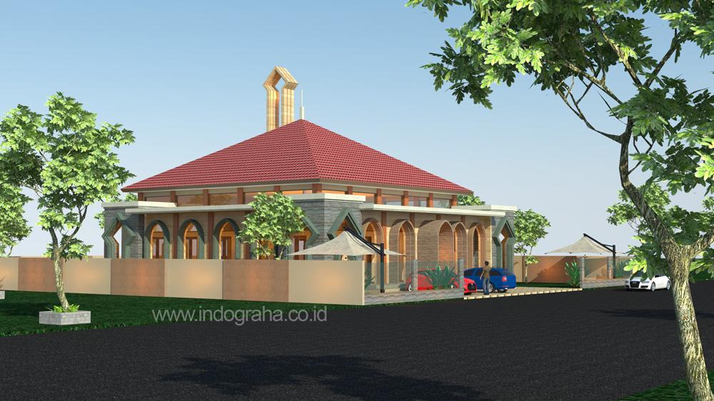 Konsultan desain masjid minimalis 1 lantai terbaru di cibubur