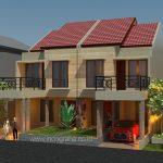 Model rumah minimalis kopel di perumahan permata depok citayam