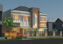 Model rumah minimalis terbaru tingkat 2 di citragran cibubur