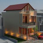 Renovasi rumah minimalis modern terbaru di taman kenari nusantara cibubur