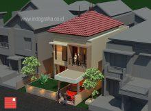 Jasa arsitek renovasi rumah tinggal tingkat 2 di cikeas cibubur