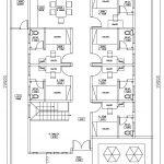 Denah Lantai 1 rumah kos minimalis di ui depok