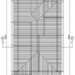 Desain atap rumah minimalis di perumahan the address cibubur