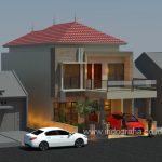 Renovasi rumah menjadi tingkat 2 dengan ukuran tanah 8x20 cimanggis