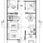 Rumah luas 225 m2 di perumahan the address cibubur tingkat 2