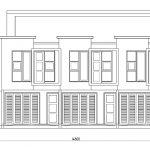Tampak depan rumah kontrakan tingkat 2 model minimalis cimanggis depok